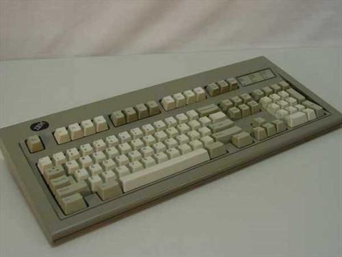 IBM 1394972  IBM Industrial PS/2 Keyboard 122 Key Silver on Bla