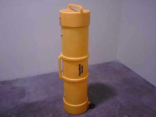 TigerMark 52x13  Round Shipping Case - Yellow Polyethylene