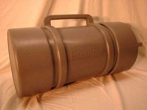 SmartPak 29x13  Round Shipping Case - Grey Polyethylene