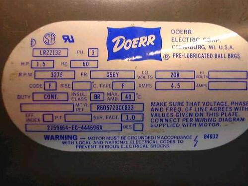 doerr motor wiring diagram diy wiring diagrams u2022 rh curlybracket co Single Phase AC Motor Wiring Motor Connection Diagram