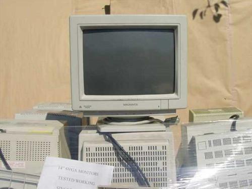 "Various 14"" Color Monitors  1 Pallet (36) 14"" VGA / SVGA Tested Working Mon"