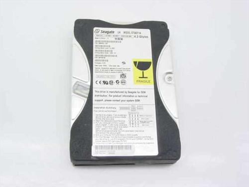 """Seagate  ST34311A  4.3GB 3.5"""" IDE Hard Drive"""
