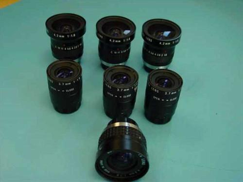 Cosmicar Various  Lot of 7 TV Lenses