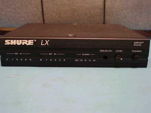 Shure LX4-CF  Wireless Microphone VHF Receiver