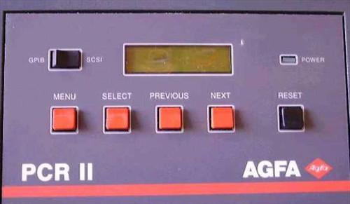 AGFA PCR II  PCR II Film Recorder