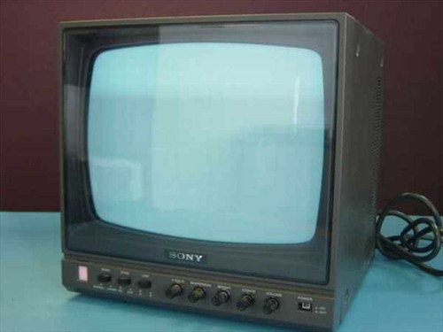 Sony PVM-122  Black and White High Resolution Video Monitor