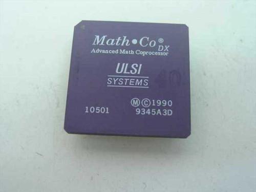 ULSI DX ULSI Systems Advanced Math Coprocessor  10501