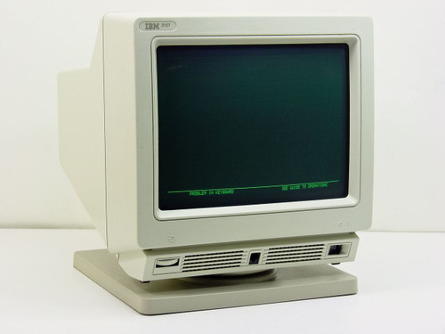 IBM 09F3484  3151 Infowindow Terminal (GREEN)