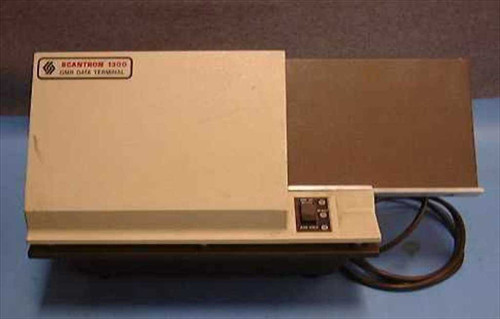 Scantron 1300  OMR Optical Mark Reader Scoring Data Terminal
