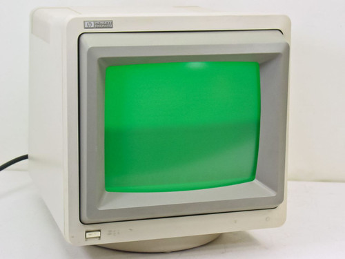 "HP 35731A  12"" Monochrome Monitor - Green"