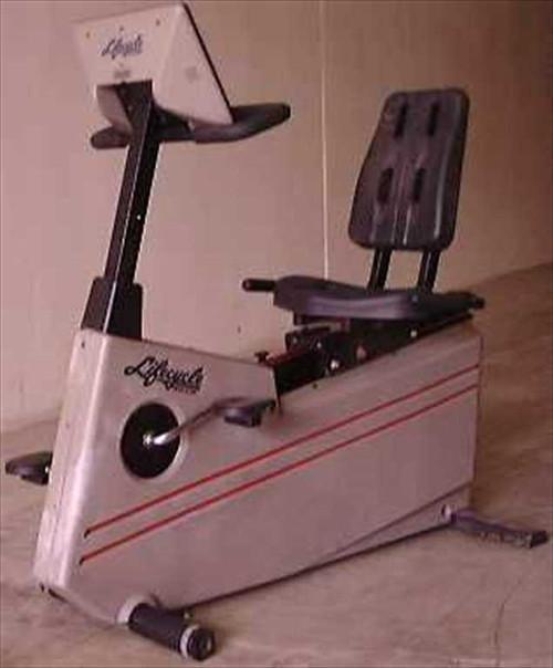 Life Fitness 9500R  LifeCycle Recumbent Trainer