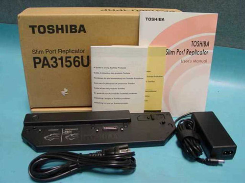Toshiba PA3156U  Slim Port Replicator Portege 2000 - OEM Box