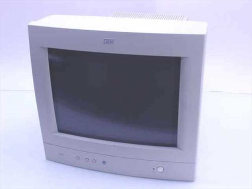 """IBM 6546-0AN  15"""" SVGA Monitor G54 1024 X 768 .28 - no base"""