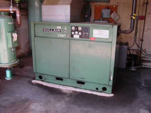 Sullair 12-50H  Compressor Rotary Screw, 50 HP, 215 CFM, Enclosed