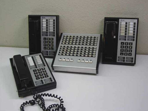 AT&T / LUCENT / AVAYA 23A1  Attendant Direct Extension Selector(DXS) Console/ Merlin HFAI-10Phone