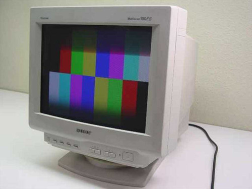 "Sony CPD-100ES  15"" MULTISCAN SVGA Monitor"