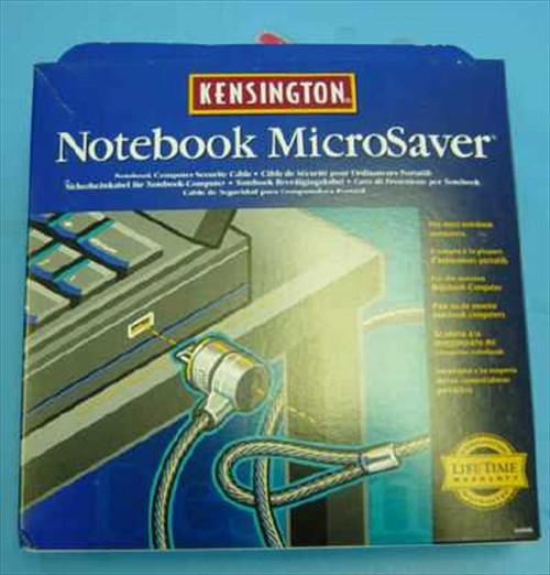 Kensington 64068  Microsaver Notebook Computer Security Lock & Cable