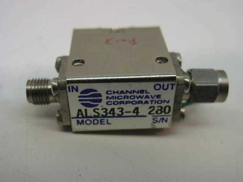 Channel Microwave Coaxial Isolator ALS343-4