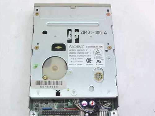 Archive 31250Q  250 MB 3.5 QIC-80 Internal Tape Drive
