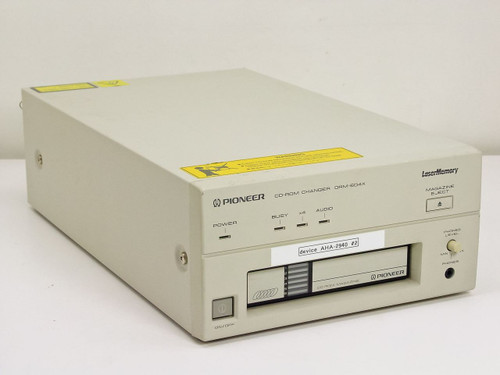 Pioneer DRM-604X  Pioneer DRM604X,Ext 6 CD changer, SCSI