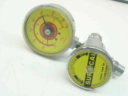 Foregger Melco Med  Surgical Suction valve with gauge