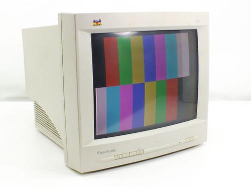 "Viewsonic E655  15"" SVGA Monitor (NO BASE) Horizontal white line on bottom right of screen"