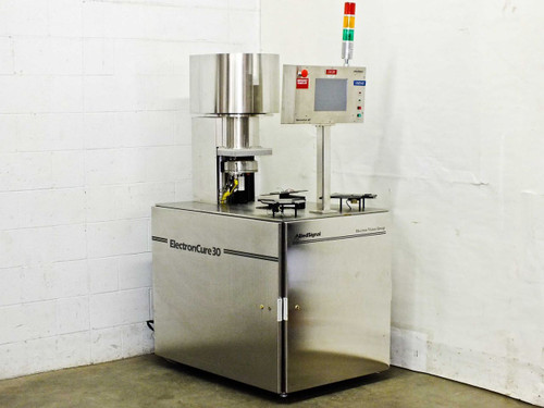 Allied Signal ElectronCure 30 E-Beam Photoresist Curing Tool -As Is 30X-150-A-II