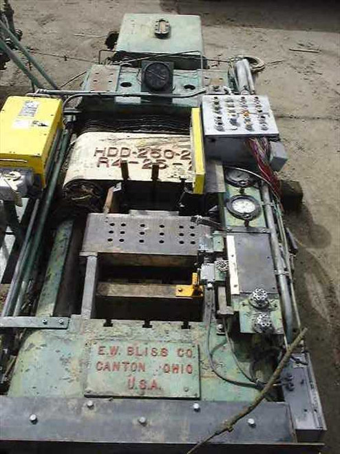 Bliss HDD-250-250 / R4-25-25  250 Ton Dual Action Hydraulic Press