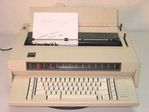 IBM WW-3  Wheelwriter 3 Electric Typewriter