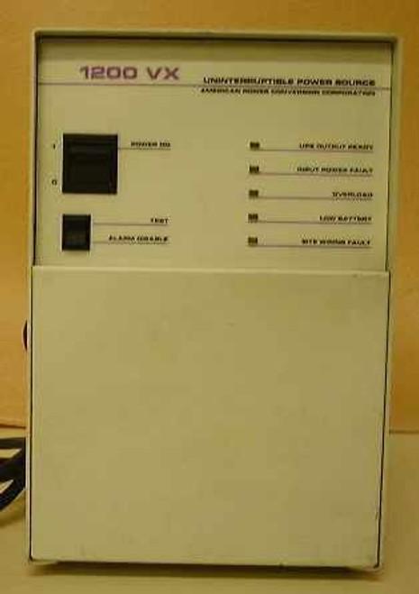 APC 1200vx  1200 VA UPS Battery Backup - Bad Battery Otherwise