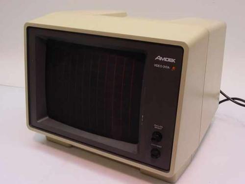 "Amdek Video 310A  12"" Monochrome Monitor - Amber"