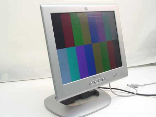 """HP 15"""" LCD Color Monitor (D5063H)"""