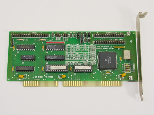 Everex EV-8120A  IDE Hard/Tape/Floppy Controller - ISA