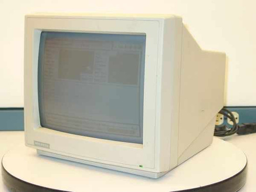 "Hyundai HMM-1200  12"" Monochrome Monitor - Amber -9 Pin - Screen Bu"