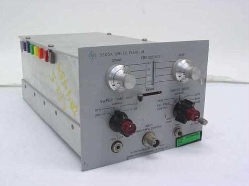 HP 3305A  Sweep Plug-In