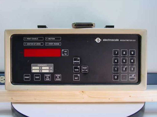 Electroscale Weightmeter 533  Electronic Scale Display Unit