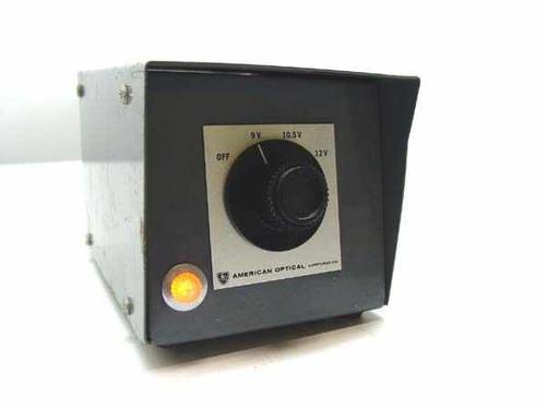American Optical 2051  Quartz Iodine LampTransformer 9V, 10.5V, 12V