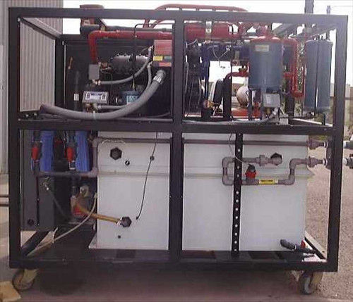 M and W Systems RPC 460-A-10GPM-DT-AA  Flowrite 45KW/10HP water chiller cooling system