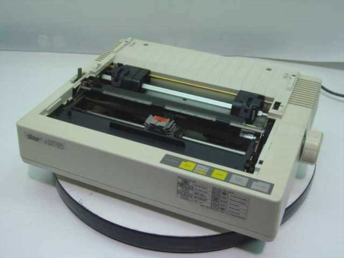 Star NX-10  Dot Matrix Printer - missing top plastic - yellow