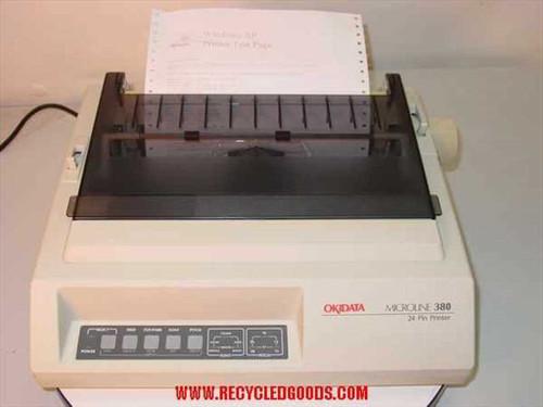 Okidata ML 380   Dot Matrix Printer 24-pin GE5255A