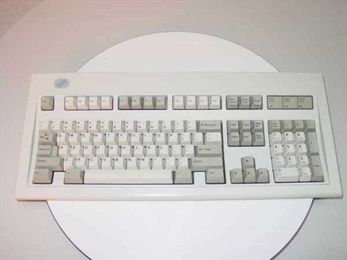 IBM 1391401  PS/2 101 Blue Logo Keyboard Model M - NO PS2 CABLE