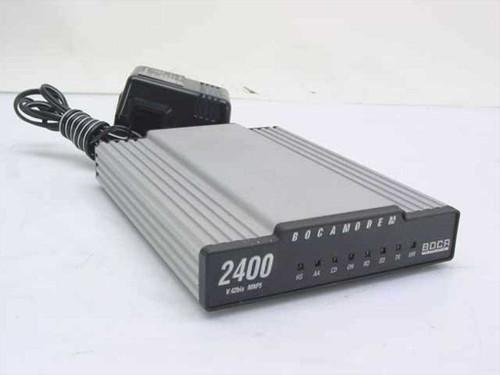 Boca M2400E  Modem 2400 V.42bis, MNP5 2400 Baud