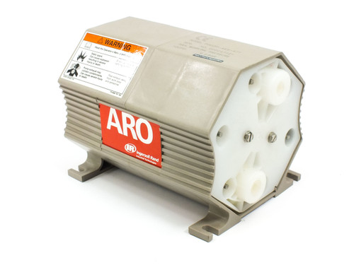 "ARO Ingersoll-Rand PD02P-AKS-KTT  1/4"" x 3/8"" Air Driven Double Diaphragm Pump"