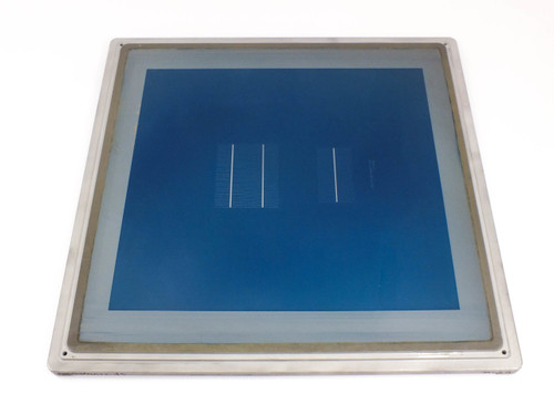 Solopower DC20X20  Solar Panel Silkscreen with Frame from Research and Development