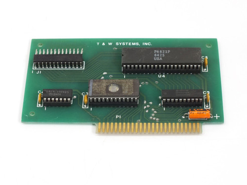 T & W Systems Apple II  PCB Card F6821P 8425 B8340 MM27160