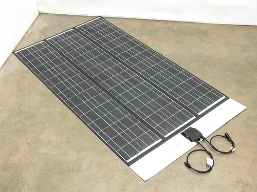 "SoloPower SFX1-i3 5'  (64"") 3 Bank Flexible Thin Solopanel CIGS Solar Panel BIPV"