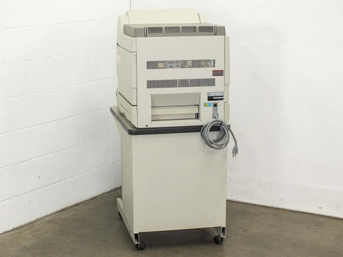 Minolta RP 503  Microfilm Microfiche Film Reader Printer with Cabinet Stand -AS IS- No Power