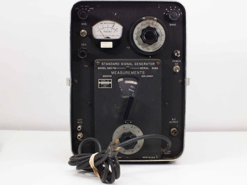 Measurements  560FM Standard Signal Generator