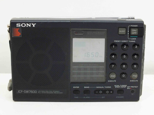 Sony IFC-SW7600  LW/MW/SW/FM Stereo PLL Synthesized Radio Receiver World Band