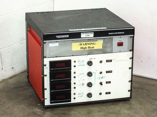 Technics Mass Flow Module Chassis Cabinet PE-II GM